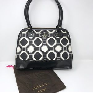 Kate Spade Rachelle Wellesley Octagonal Bag Black
